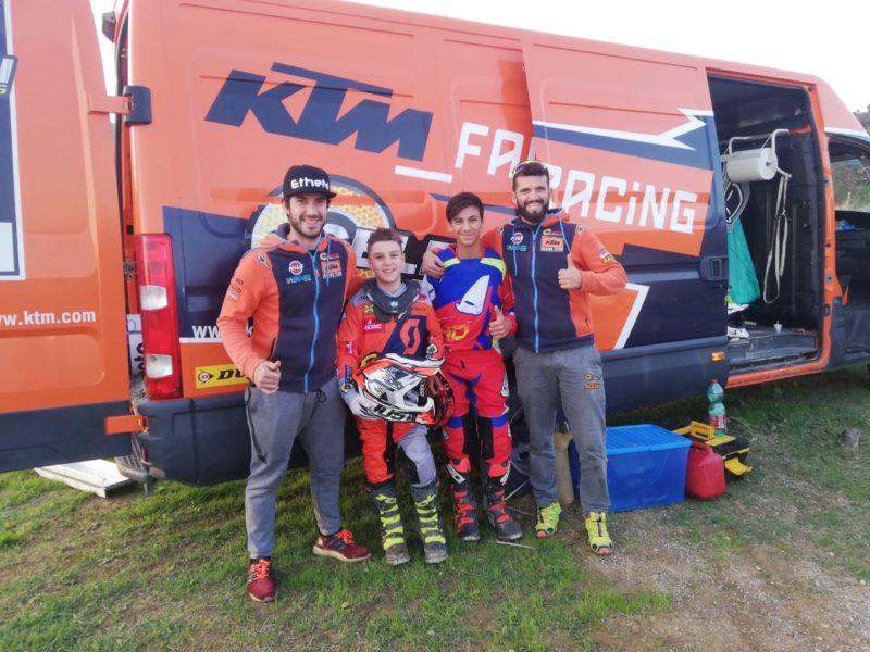 Celestini Moto KTM_Vivaio giovani piloti